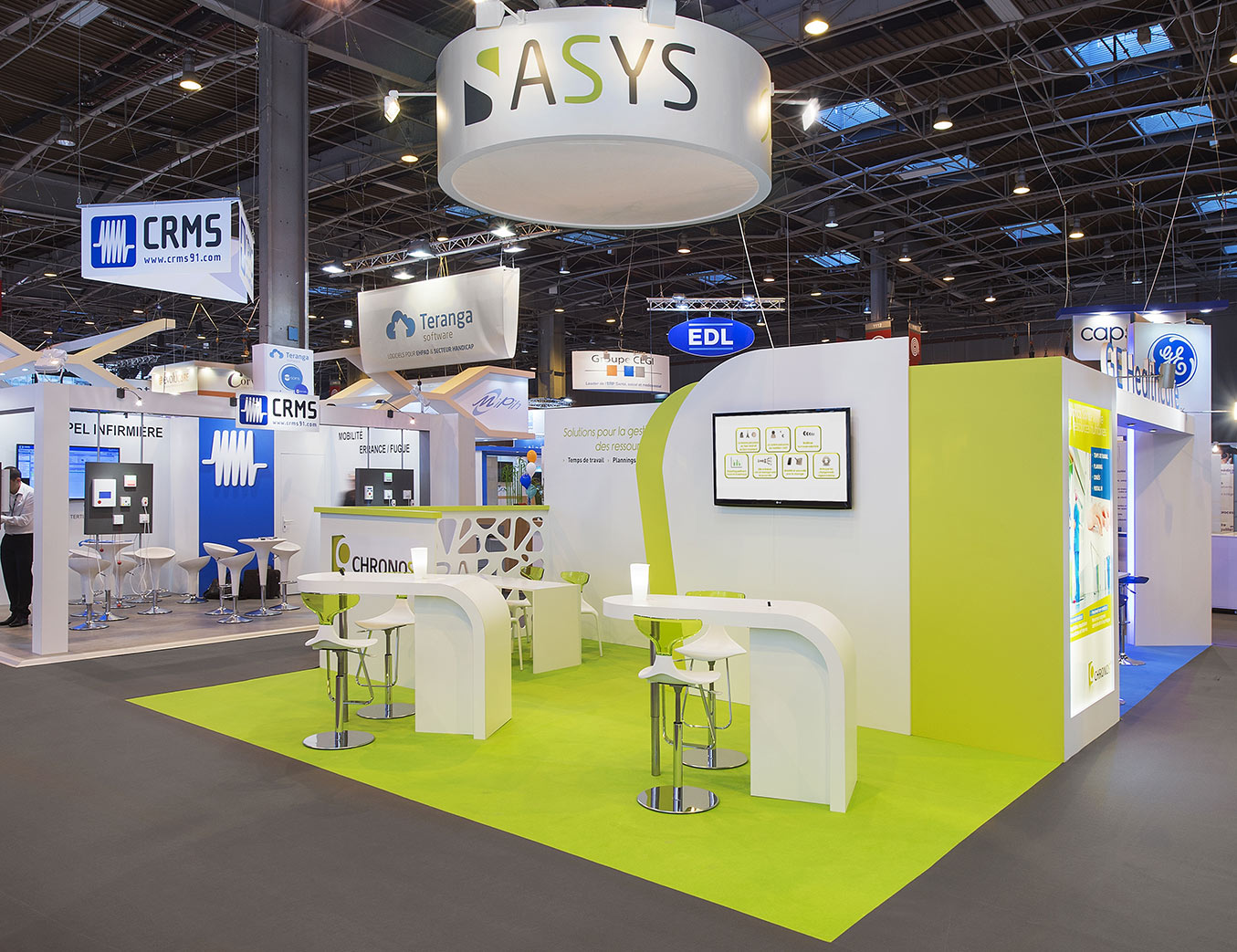 Asys alphonse tari design for Agencement de stand